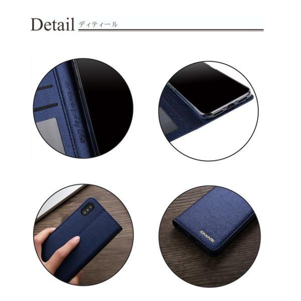 iPhone X ケース 手帳型 アイフォンXケース アイフォンXカバー アイフォンX手帳型ケース iPhoneX手帳ケース 合皮レザー iPhoneXケース TPU|goen-yahuu-ten|03