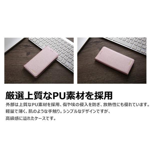 iPhone X ケース 手帳型 アイフォンXケース アイフォンXカバー アイフォンX手帳型ケース iPhoneX手帳ケース 合皮レザー iPhoneXケース TPU|goen-yahuu-ten|04