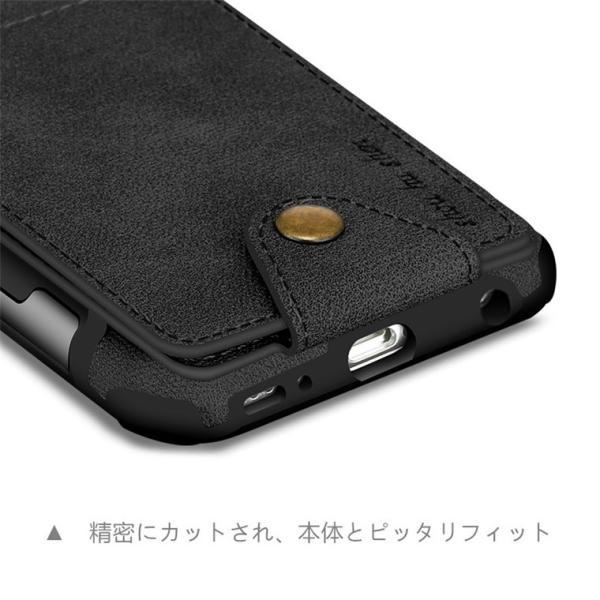Samsung Galaxy S9 ケース S9 Plus カバー s9+ galaxyS9ケース/カバー 便利 カード収納 カード ギャラクシーS9ケース ギャラクシー S9 ケース 耐衝撃|goen-yahuu-ten|04