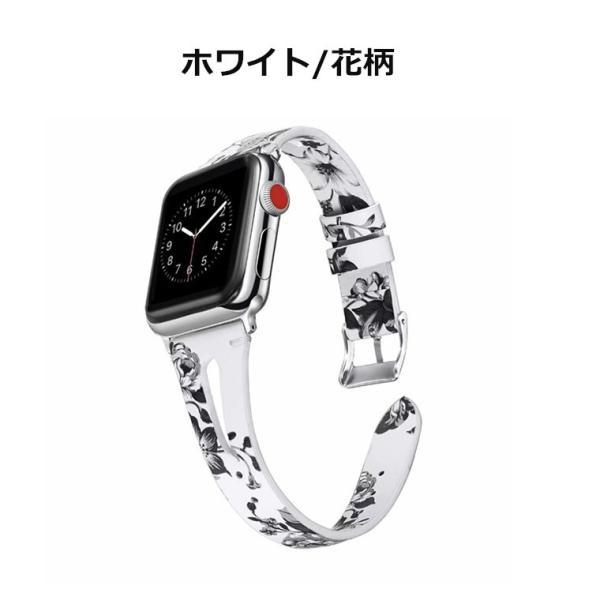 Apple Watch バンド 交換用バンド 花柄 アップルウォッチ ベルト series 4/3/2/1 44mm 40mm 38mm 42mm|goen-yahuu-ten|10