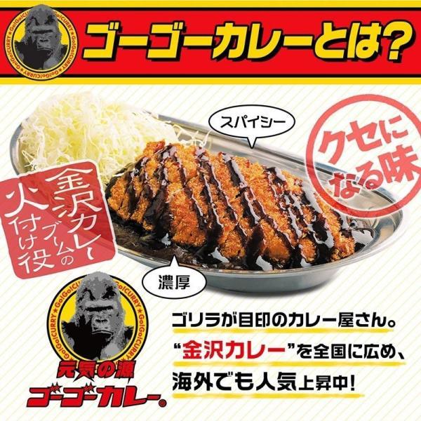 ゴーゴーカレー レトルトカレー 金沢カレー 1食入り レトルトカレー ご当地|gogo-curry|07