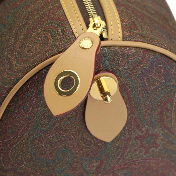 エトロ ハンドバッグ ミニボストン35 ペイズリー柄 PVCコーティングレザー 00002 1729 新品