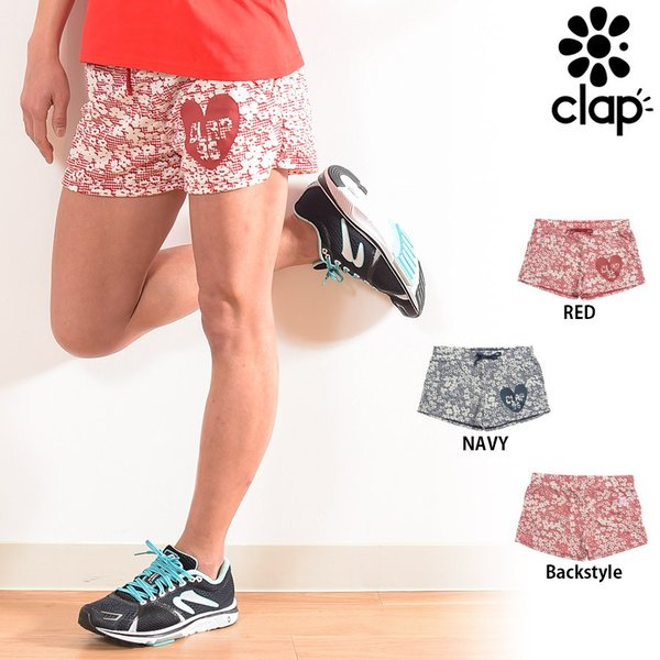CLAP(クラップ) ショートパンツ C-フラワー(C-FLOWER)|golazo