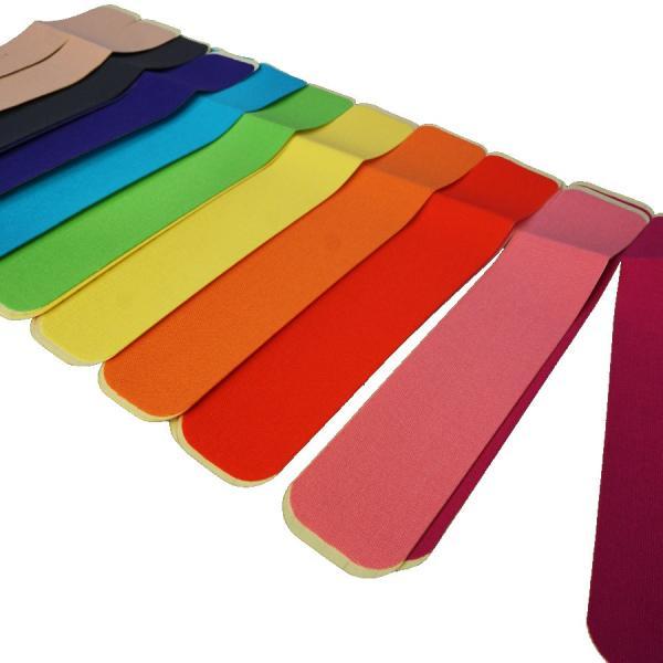 New-HALE(ニューハレ)  すぐ貼れるシリーズ Vテープ 10cm×28cm(2枚入り) 全10色展開  膝・腰・V型形状でふくらはぎ・肩に最適なキネシオテープ|golazo|03