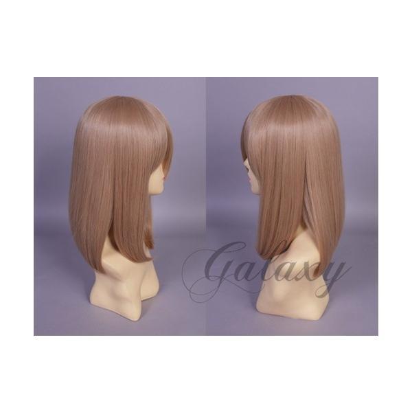 ウィッグ ストレート セミロング ブラウン ブラウン系 耐熱 フルウィッグ wig 【あすつく対応】 y06s-58s