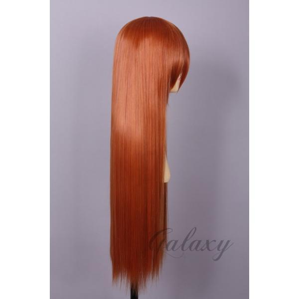ウィッグ ストレート ロング ゴールド ゴールド系 耐熱 フルウィッグ wig 【あすつく対応】 y07s-30s