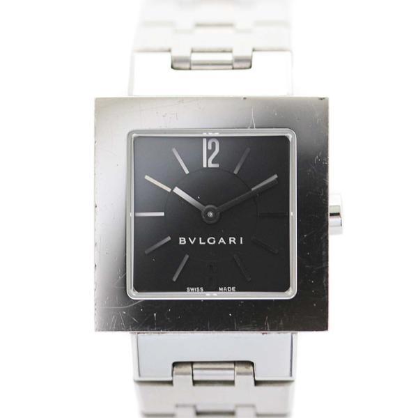 new products 0afd6 5dd71 ブルガリ クアドラード 腕時計 レディース クオーツ ...