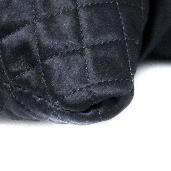 シャネル ココカバス GM 巾着型  チェーン  トート シルク ショルダーバッグ レディース サテン ブラック 中古 送料無料 CHANEL|goldeco|10
