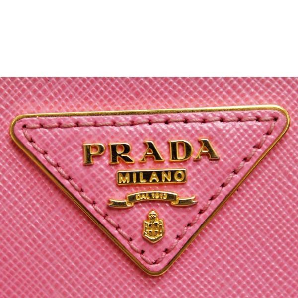 プラダ サフィアーノ 2WAY ハンドバッグ レディース レザー ピンク BL0838 中古 送料無料 PRADA|goldeco|10