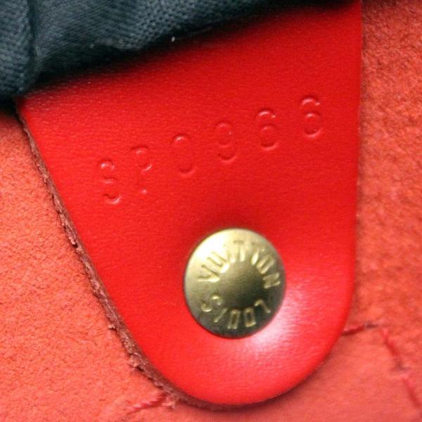 ルイ ヴィトン ミニボストン スピーディ25 エピ ハンドバッグ レディース エピレザー レッド M43017   LOUIS VUITTON