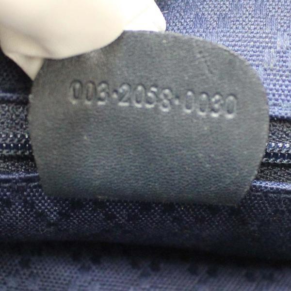 グッチ リュック・デイパック レディース バンブー レザー ブラック 003 2058 0030 中古 送料無料 GUCCI