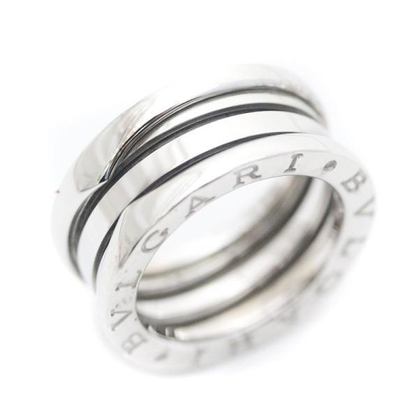 972563784f9e 新品仕上げ済み ブルガリ B-Zero1 リング 指輪 K18 750WG ホワイトゴールド ビーゼロワン ジュエリー ...