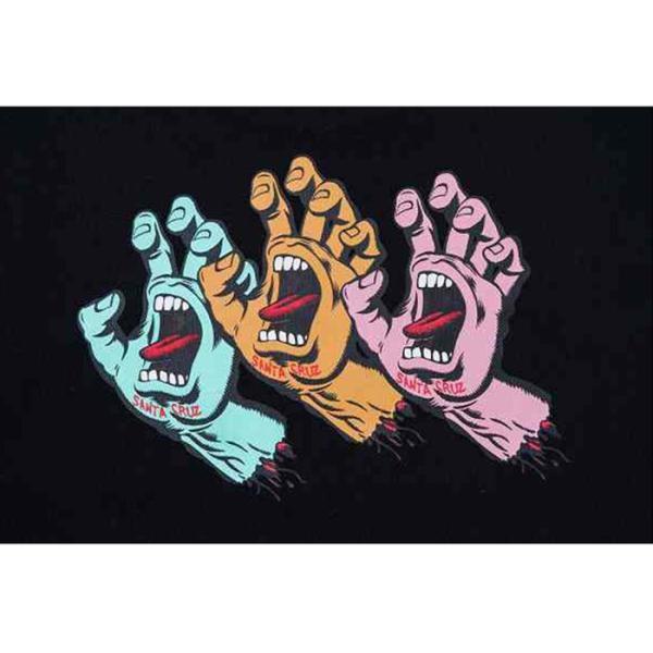 NEWERA ニューエラ 12110827 Santa Cruz サンタクルーズ Screaming Hand コットン Tシャツ 半袖 コラボレート メンズ レディース 2カラー|goldentijuana|08