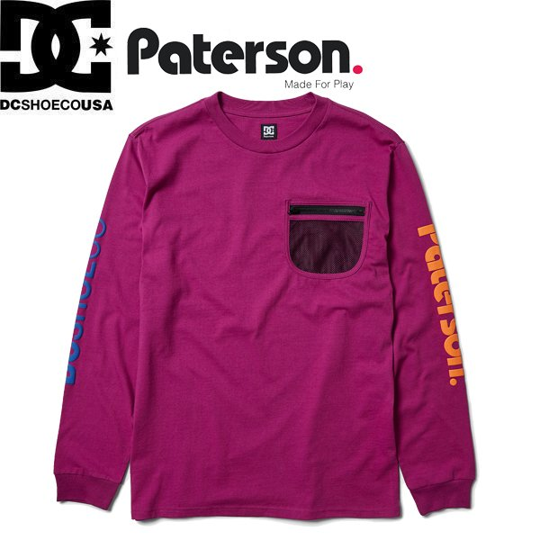DC SHOES PATERSON X DC FIELD TECH LS DCシューズ ディーシー ...