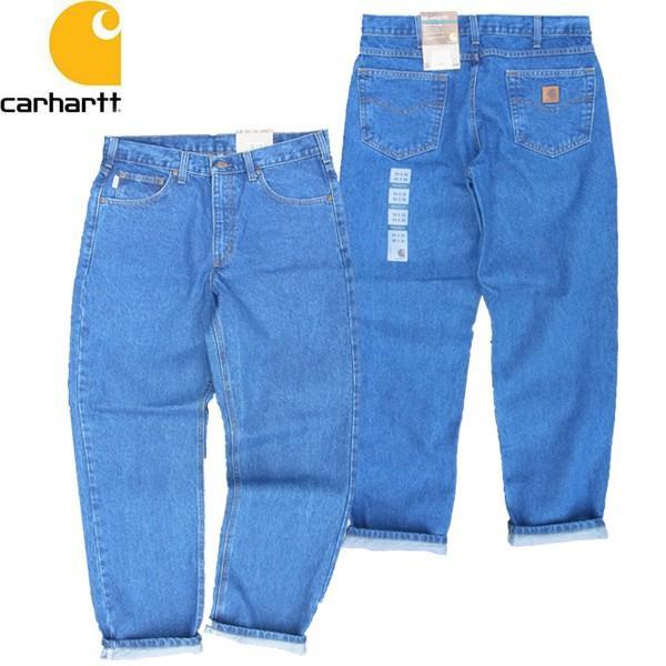 CARHARTT カーハート B17 RELAXED FIT TAPERED LEG JEAN リラックスフィット テーパード ジーンズ デニム パンツ メンズ