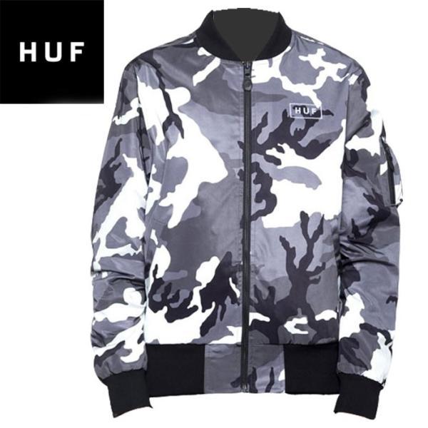 Men's Clothing Coats & Jackets Huf Worldwide Windbreaker Jacket Standard Issue Ma-1 White Camo In M