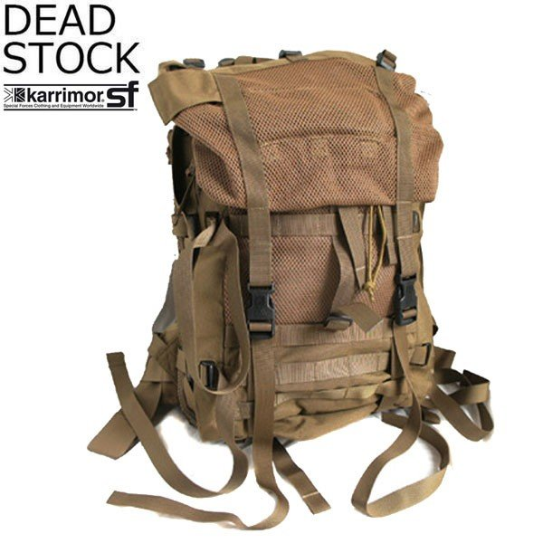 DEAD STOCK デッドストック KARRIMOR SF ECM PACK カリマー スペシャルフォース イギリス軍 バックパック リュック コヨーテ T010C1 放出品 送料無料