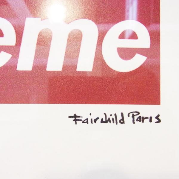 FAIR CHILD フェアー チャイルド SUPREME ART POSTER シュプリーム アート ポスター オフィシャル 広告 送料無料|goldentijuana|06