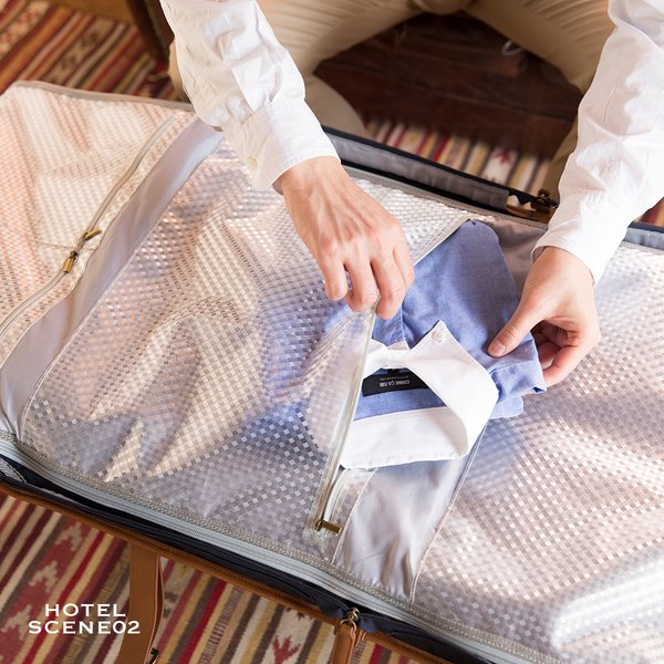 ガーメントバッグ メンズ スーツ バッグ 出張 ビジネス ガーメントケース ガーメント メンズ レディース 綺麗 GA1902 GOLDMEN goldmen 15