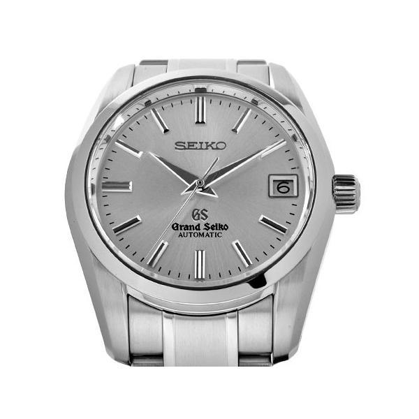 グランドセイコー メカニカル SS メンズ 時計 自動巻き シースルーバック シルバー文字盤 SBGR051