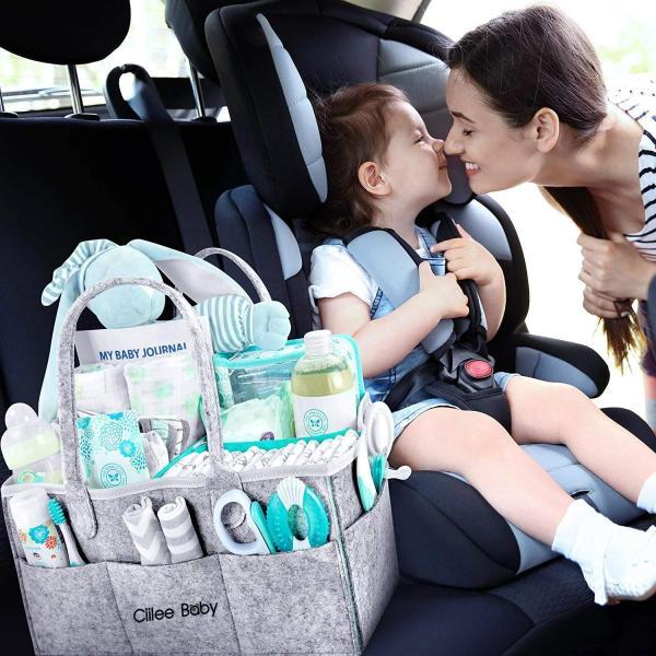 おむつストッカー より丈夫より安心 オムツ収納ケース 折りたたみ 収納ボックス ベビー用品収納バッグ オムツストッカー 赤ちゃん おもちゃ goldriver 10