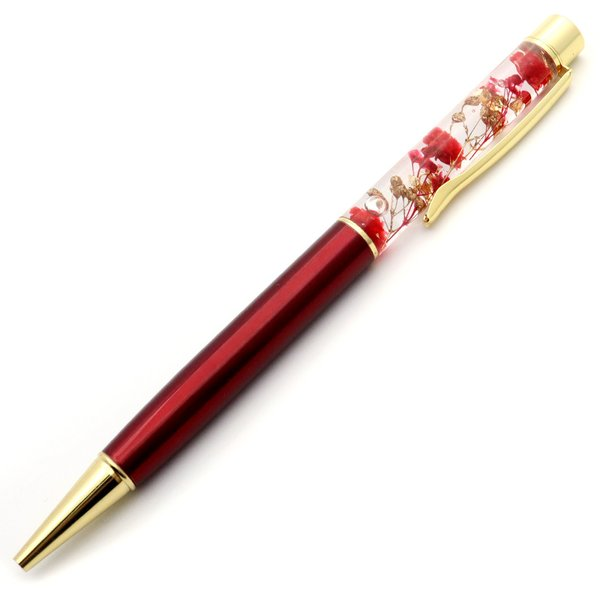 ハーバリウム ボールペン 太さ1.0mm 専用ケース付 花 フラワー|goldstone|09