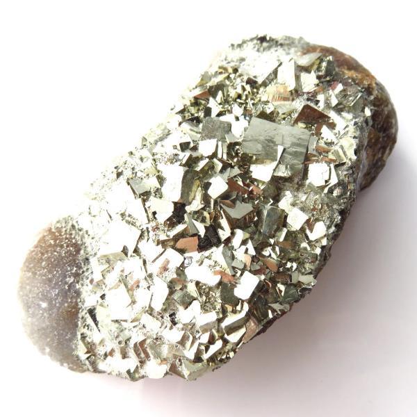 パイライト オン フローライト 原石 約172g  中国産 1点もの パワーストーン 天然石
