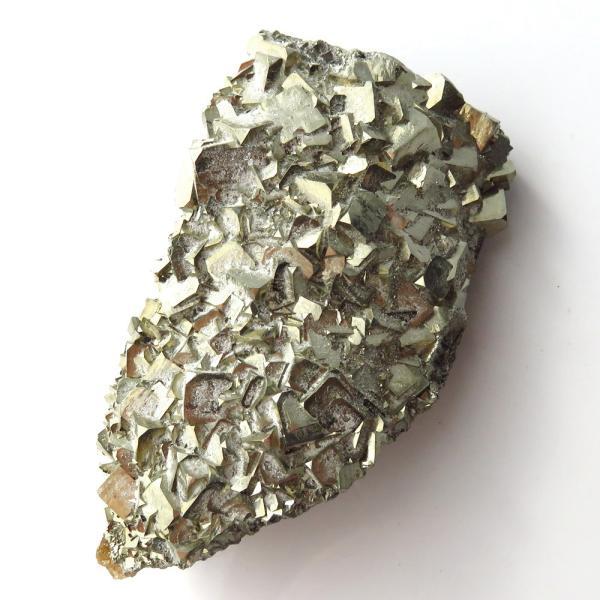 パイライト オン フローライト 原石 約107g  中国産 1点もの パワーストーン 天然石