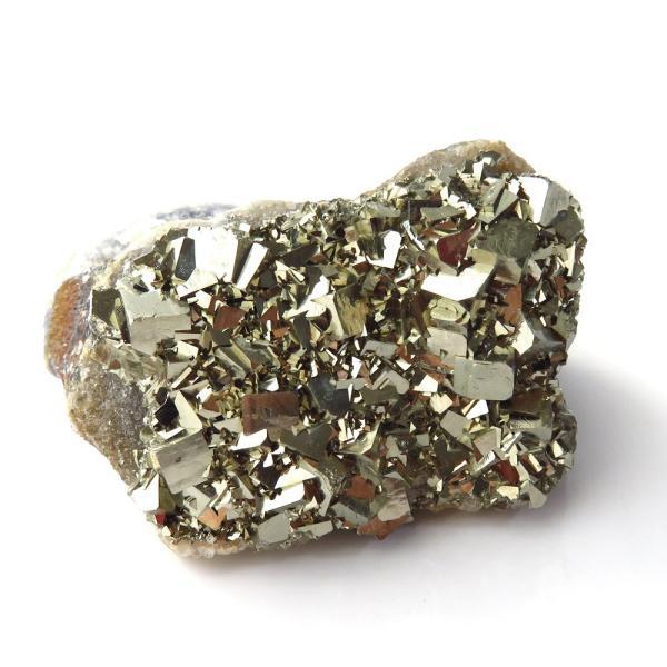 パイライト オン フローライト 原石 約64g  中国産 1点もの パワーストーン 天然石