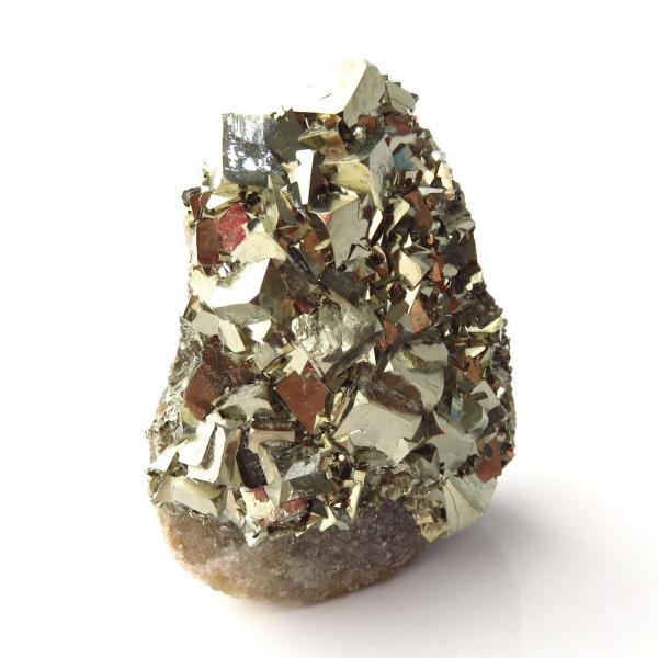 パイライト オン フローライト 原石 約42g  中国産 1点もの パワーストーン 天然石