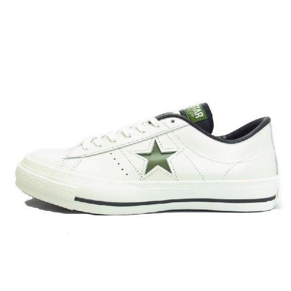 スニーカー メンズ CONVERSE コンバース ONE STAR J ワンスターJ WHITE GREEN ホワイト グリーン MADE IN JAPAN 日本製|goldtakeoff7|02