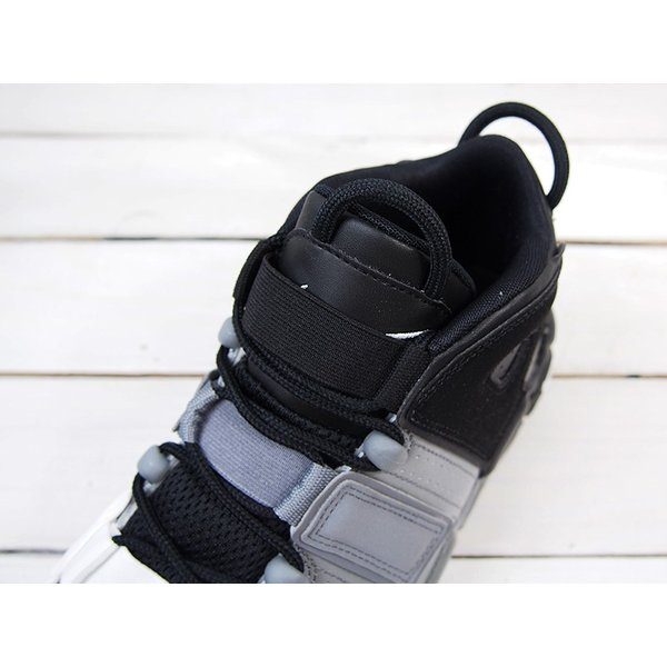 スニーカー メンズ NIKE ナイキ AIR MORE UPTEMPO エア モア アップテンポ BLACK/BLACK/COOL GREY/WHITE|goldtakeoff7|05