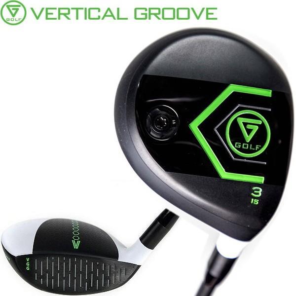 VERTICAL GROOVE GOLF バーチカルグルーブ ゴルフ VGG フェアウェイウッド  (縦溝フェース/日本仕様コンポジットテクノ FIRE EXPRESS SPIRITS VGG シャフト装着