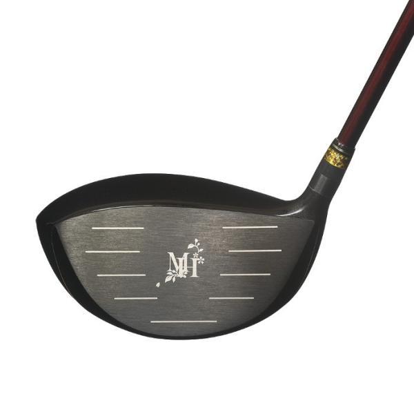 ムツミホンマ MUTSUMI HONMA MH500X2 高反発 ドライバー 45.5インチ ロフト角10.5度  500cc チタン製ヘッド カーボンシャフト シニア向け ゴルフクラブ|golf-club|02