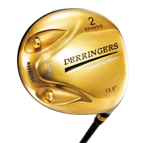 デリンジャー 高反発ゴールドブラッシー ヘッドカバー付き|golf-club|02