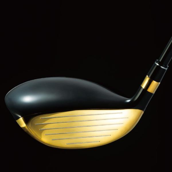 デリンジャー 高反発ゴールドブラッシー ヘッドカバー付き|golf-club|03