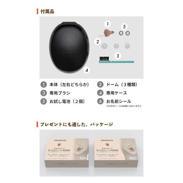 オンキヨー OHS-D21L 耳あな型補聴器 左耳用|golf-club|05