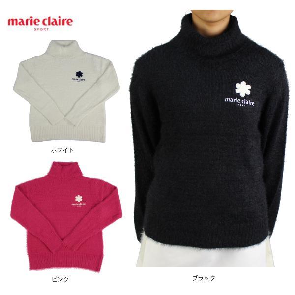 30%OFF2020秋冬 マリクレールレディースゴルフウェアセーター730700marieclaire長袖セータータートルセータ
