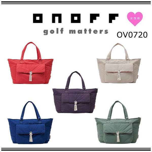 ONOFF オノフ ゴルフ レディース ボストンバッグ OV0720 2020年モデル