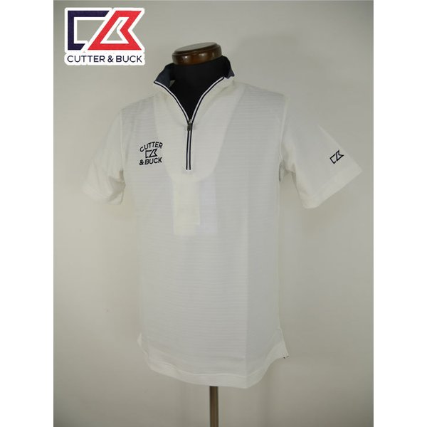 メール便・ゆうパケット カッター&バック CUTTER&BUCK ゴルフウェア 半袖シャツ (M寸:メンズ) 春夏 SALE