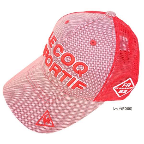 期間限定クーポン配布中 ルコック lecoq ゴルフ シャンブレーキャップ(FREE(57-59cm):メンズ) 2020春夏新作モデル|golf-suehiro|06