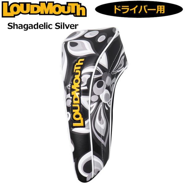 日本規格ラウドマウス2021ヘッドカバードライバー用シャガデリックシルバーLM-HC0010/DR761995(202)21SS