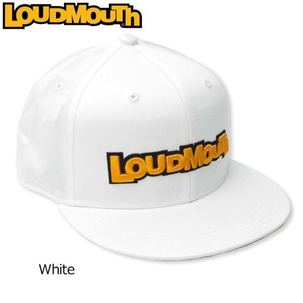 日本規格ラウドマウスフラットキャップスナップバックWhiteホワイト769943(999)19SSLoudmouthフラットビル
