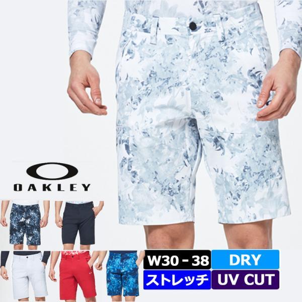 オークリー スカル メンズ ショートパンツ FOA400789 ドライ ストレッチ UPF50+ 春夏秋 20SS Oakley Skull Addictive Shorts 2.0 ボトムス MAY2 MAY3