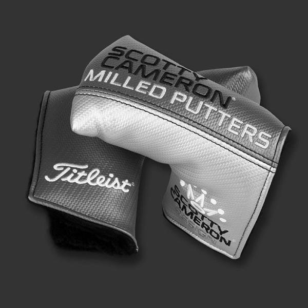 スコッティキャメロン オールグレー 101120 ミッドマレット ヘッドカバー パターカバー SCOTTY CAMERON【即日出荷】|golfaholics|02