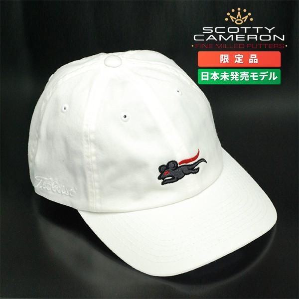 スコッティ キャメロン スーパーラット スローチキャップ アジャスタブル ホワイト フリーサイズ 011162【即日出荷】|golfaholics