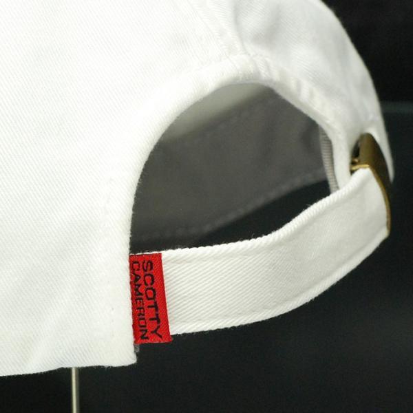 スコッティ キャメロン スーパーラット スローチキャップ アジャスタブル ホワイト フリーサイズ 011162【即日出荷】|golfaholics|06