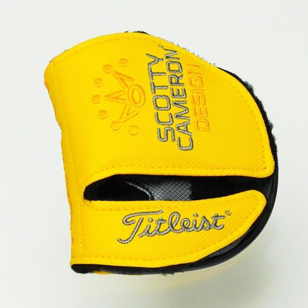 スコッティキャメロン ファントムX ヘッドカバー ミッドラウンド タイトリスト Scotty Cameron PhantomX 102105|golfaholics|02