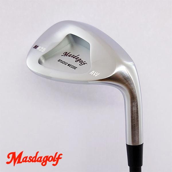 ゴルフ パーツ ウェッジ チッパー ヘッド 単品 マスダゴルフ スタジオウェッジ M425 ウェッジ ヘッド (ニッケルクロムメッキ仕上げ) MSD-M425-NCP