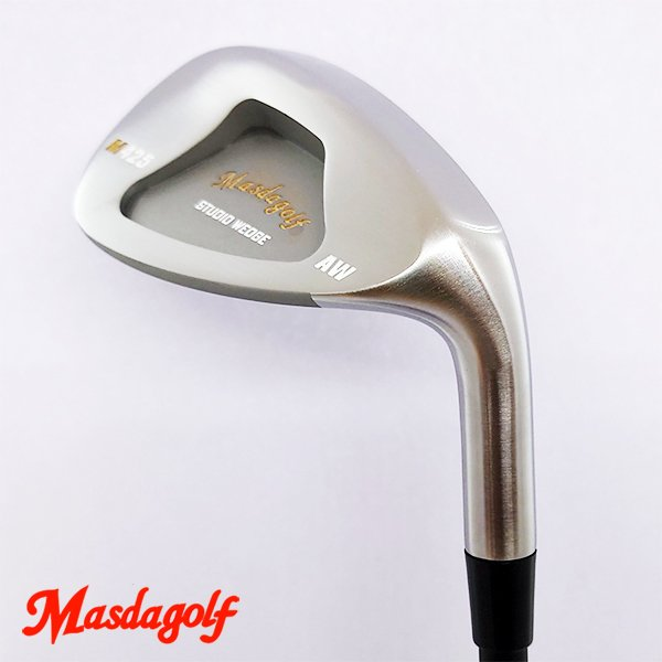 ゴルフ パーツ ウェッジ チッパー ヘッド 単品 マスダゴルフ スタジオウェッジ M425 ウェッジ ヘッド (ノーメッキ仕上げ) MSD-M425-NOP